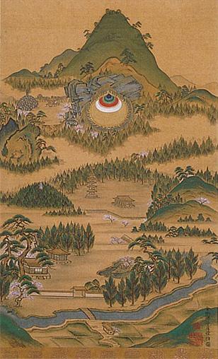 「室生如意山の絵」の画像検索結果